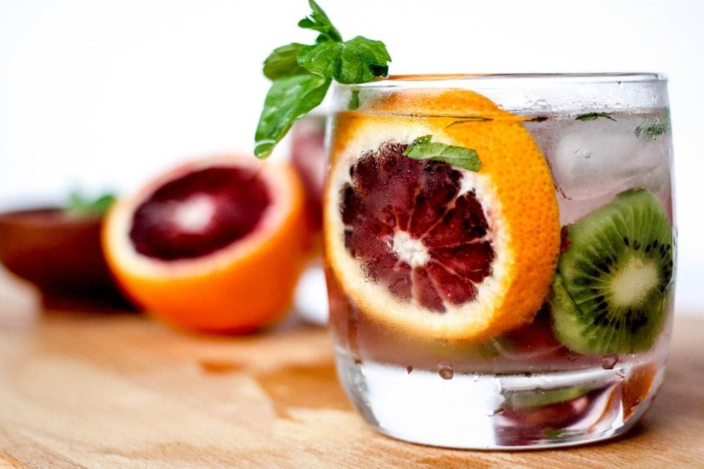 Blood Orange, Kiwi & Mint Margaritas. Because You Deserve It.